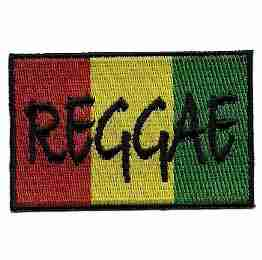 Reggae Rasta Flag Iron on Patch Jamaican flag