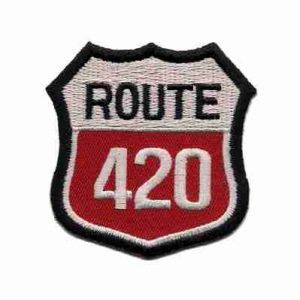 Route 420 Patches Interstate Highway Sign 420 Patch