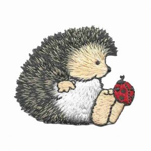Hedgehog Iron on Patch Applique