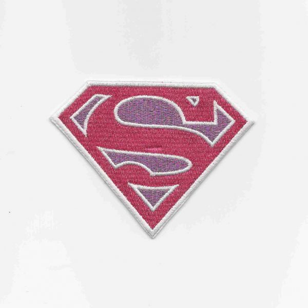 Superwoman Supergirl Logo SMALL Iron on Patch