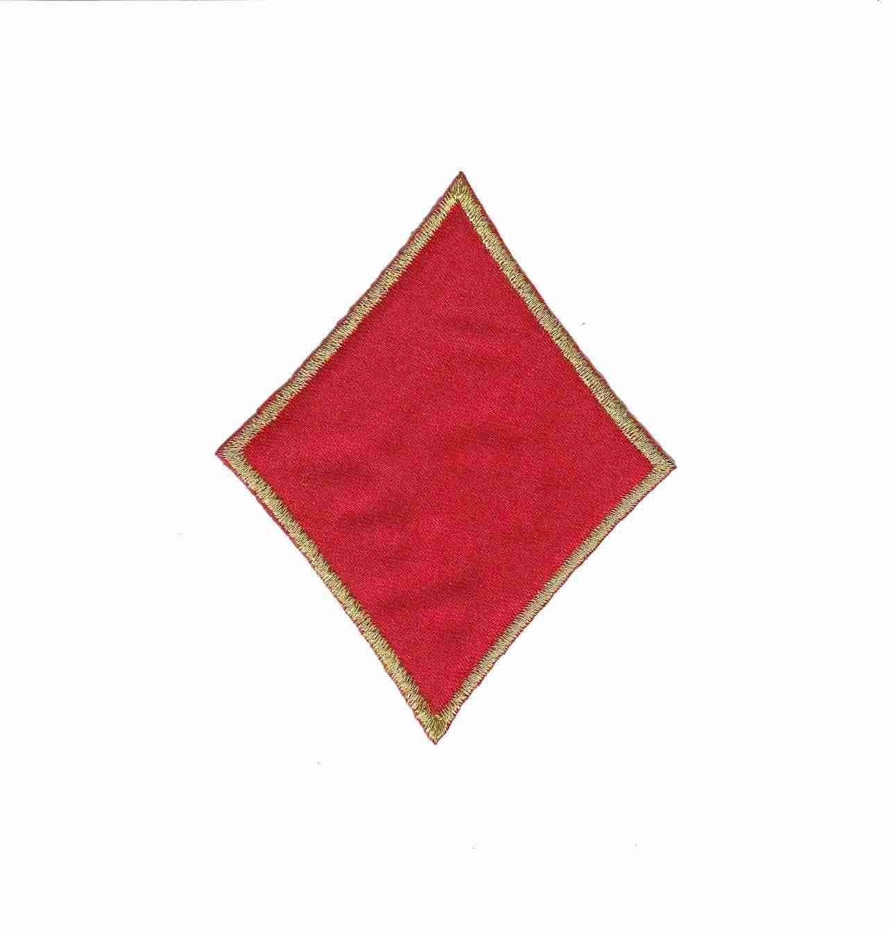 Card Suit Symbols Diamond Iron On Patch Applique
