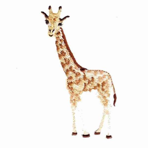Giraffe Iron On Patch