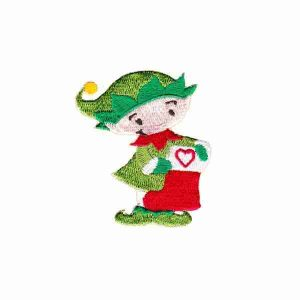 Christmas Elf Iron on Patch Applique
