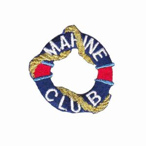 Marine Club Lifesaver Ring Patch